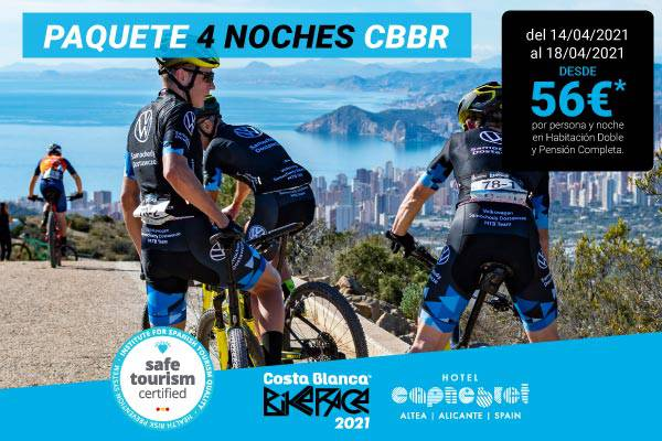 Costa blanca bike race 4 nights cap negret hotel altea, alicante