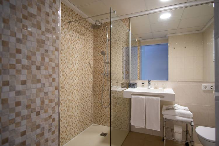 Bathroom cap negret hotel altea, alicante