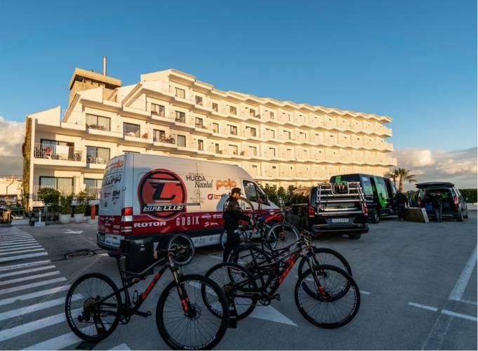 Bike zone cap negret hotel altea, alicante
