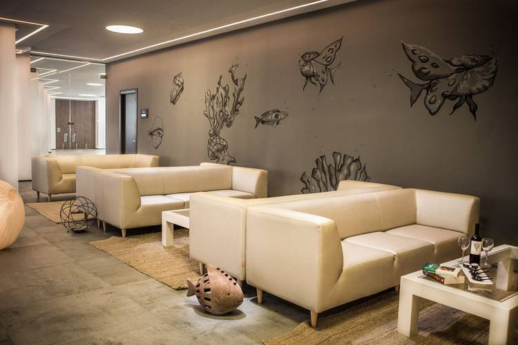 Common areas cap negret hotel altea, alicante