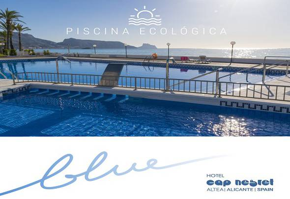 Ecological pool cap negret hotel altea, alicante