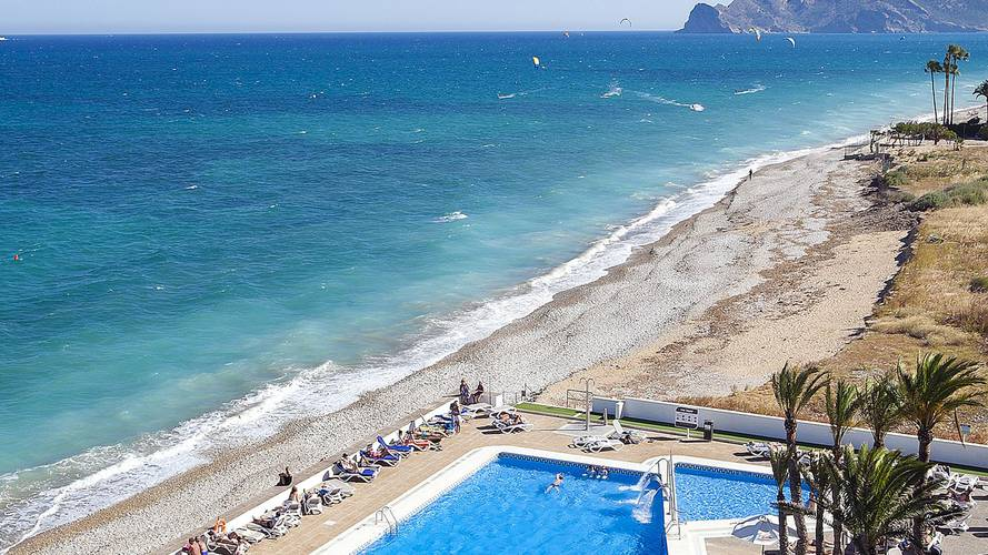Beach cap negret hotel altea, alicante