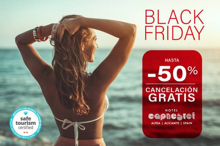 Blackfriday cap negret hotel altea, alicante