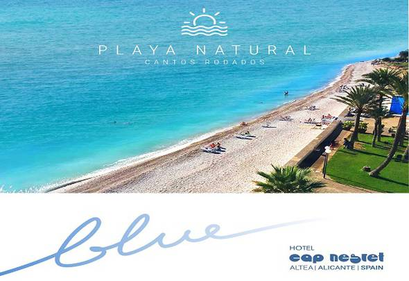 Natural beach cap negret hotel altea, alicante
