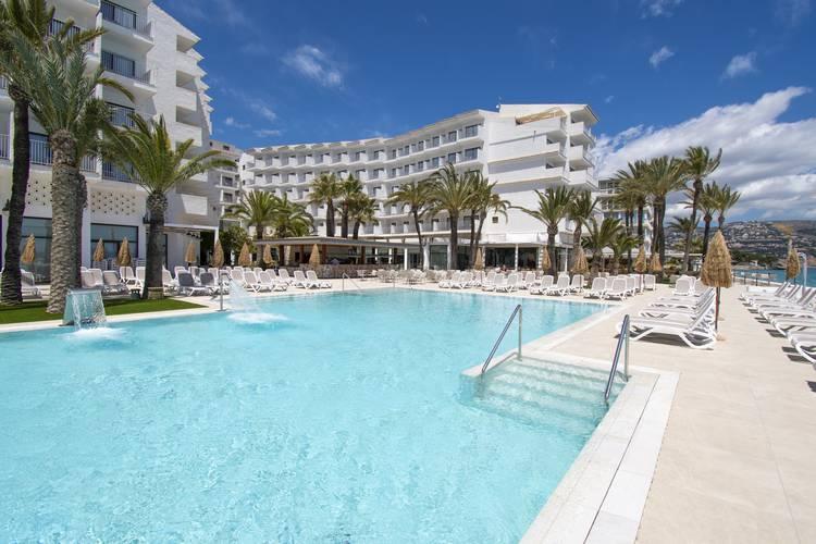 Outdoor swimming pool cap negret hotel altea, alicante